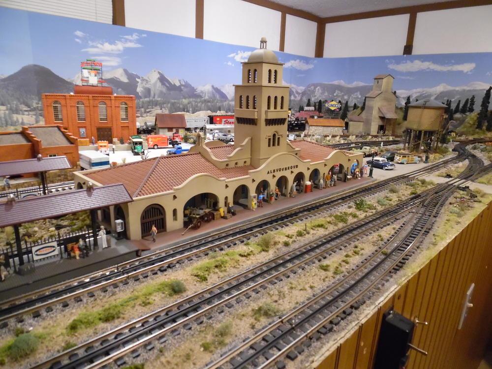 6 Albuquerque Depot From Tw Trainworx With Artistta