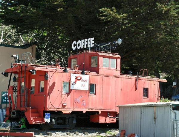 Coffee Shop Caboose in Pacifica CA-113