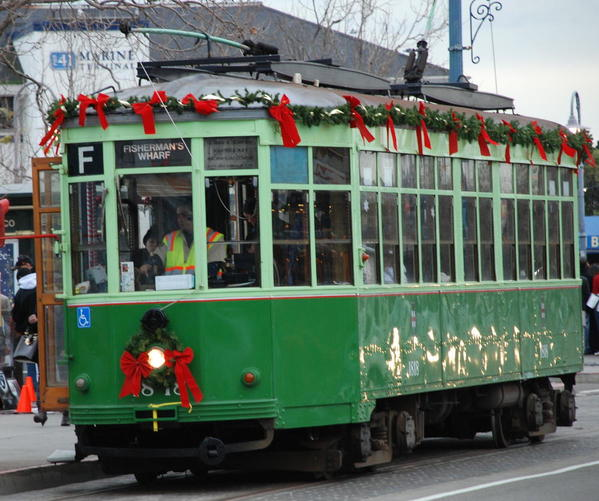 The Christmas Trolley