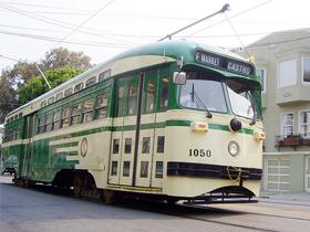 SF Muni street car #1050