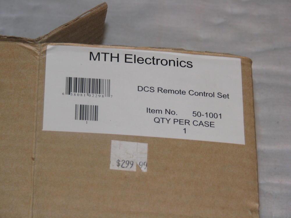 PRICE REDUCED: MTH TIU DCS Remote Control Set, new, in
