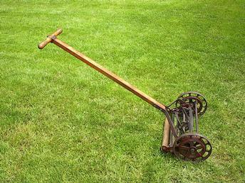 Old Fashioned Reel Lawn Mowers
