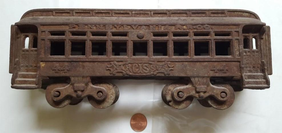 Nycrr Cast Iron Train: Help With This Cast Iron Train Car
