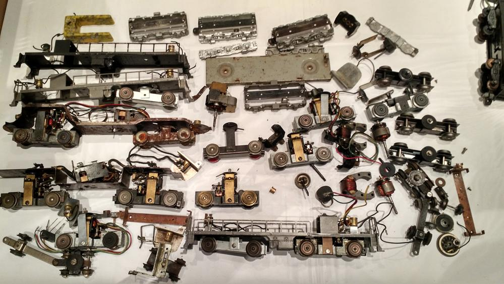 American Flyer Cars, Engines, Engine Parts: Steam and Diesel | O ...