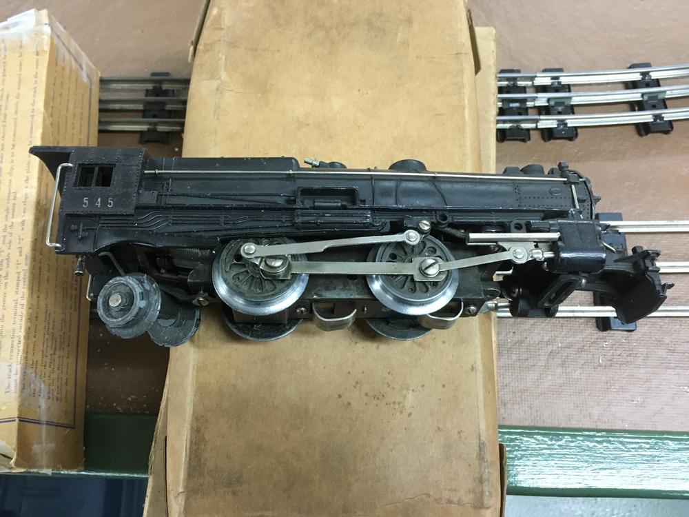 American Flyer 545 Steam Locomotive Parts Needed O Gauge