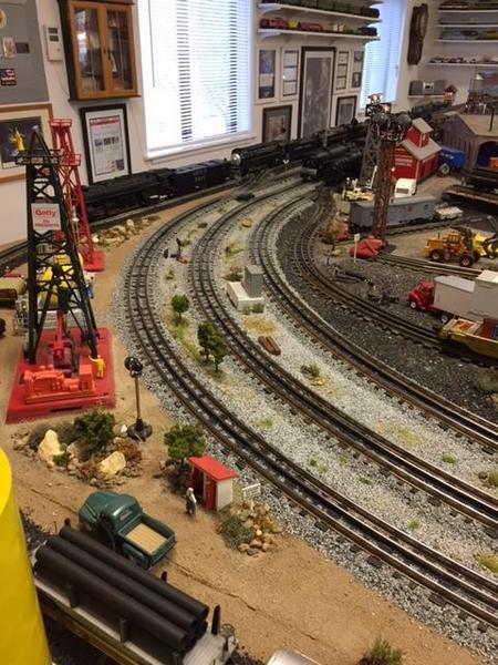 14 TRAIN TRUCKS 027 GAUGE BLACK TIES 8 CURVED /& 4 STRAIGHT
