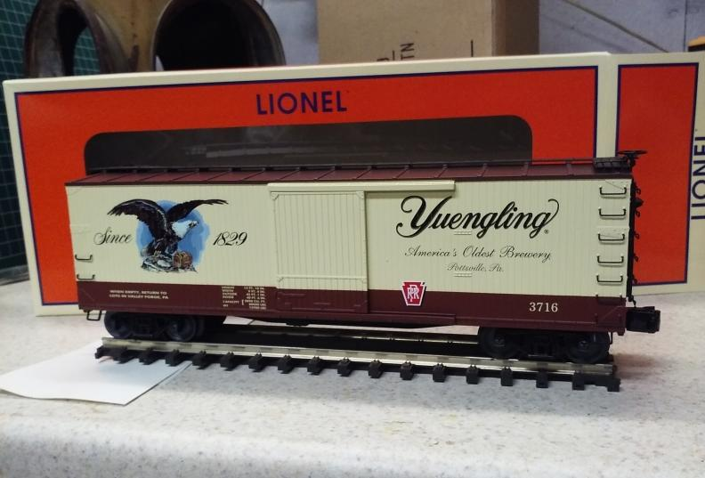 Yuengling Has Arrived!   O Gauge Railroading On Line Forum