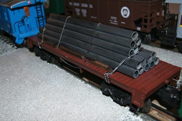 Pipe Flatcar 07