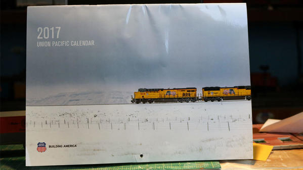 Union Pacific Calendar Official 2017 Cover
