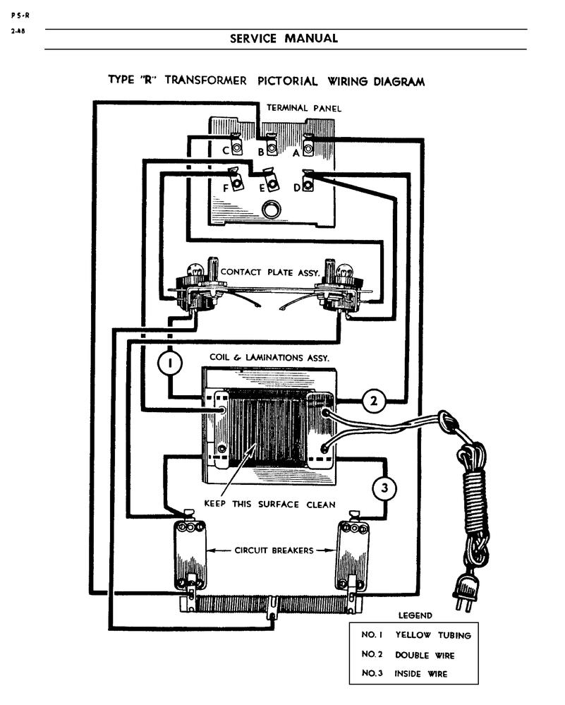 lionel model r transformer