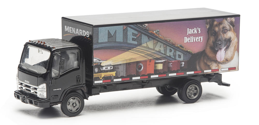 10 27 16 Csx Hopper And Jack S Delivery Box Truck From Menards O