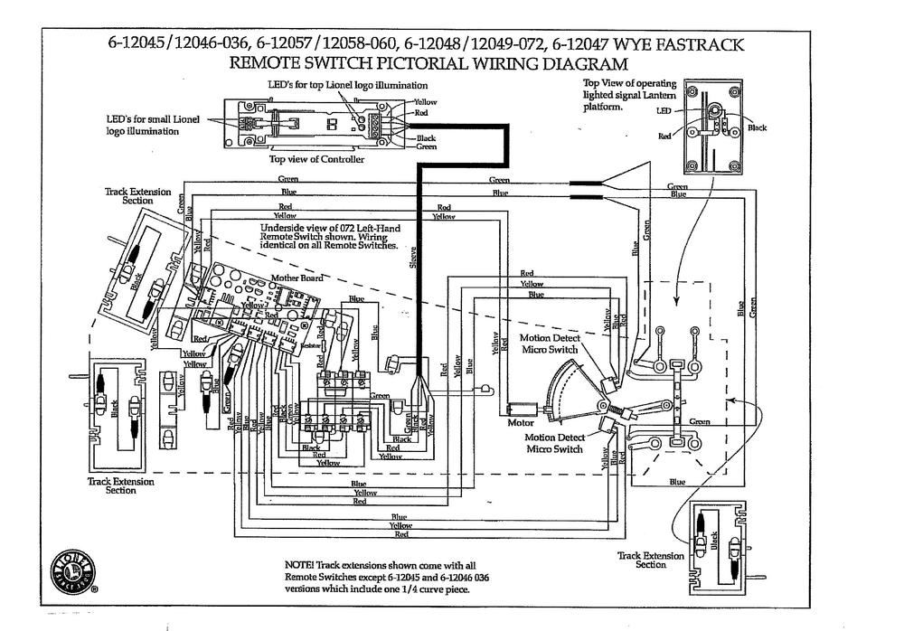 lionel fastrack switch controller problem | o gauge ... photo switch wiring schematics for lighting contactors lionel 1121 switch wiring schematics
