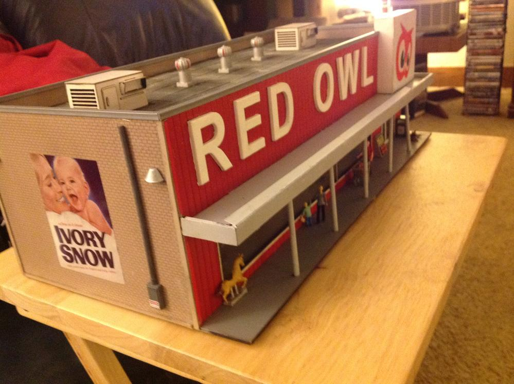 (11/10/16) O Gauge Red Owl Store from Menards! | O Gauge ... - photo#18