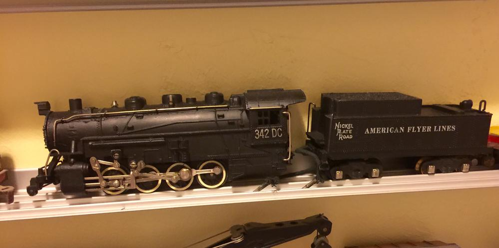 Challenger Locomotive Pair Repro 336 Number Boards for American Flyer Northern