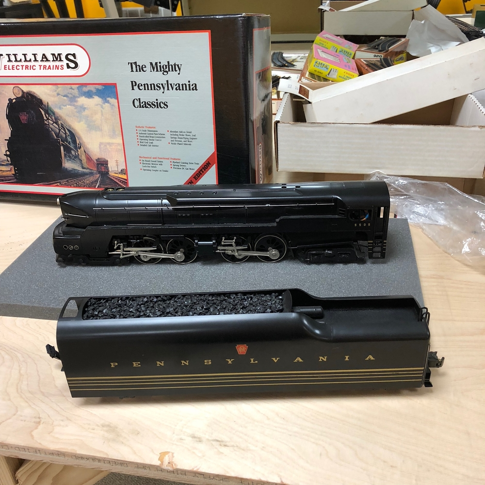 Williams Crown Edition Locomotives O Gauge Railroading On Line Forum Cutting Down Lionel 022 Switches Like