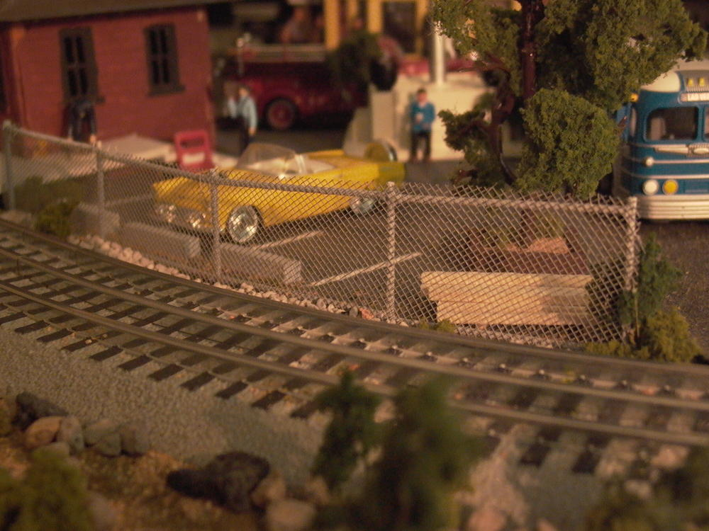 Chain Link Fencing O Gauge Railroading On Line Forum