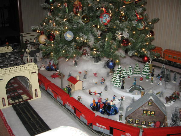 LET'S SEE YOUR TRAINS UNDER YOUR CHRISTMAS TREES | O Gauge ...