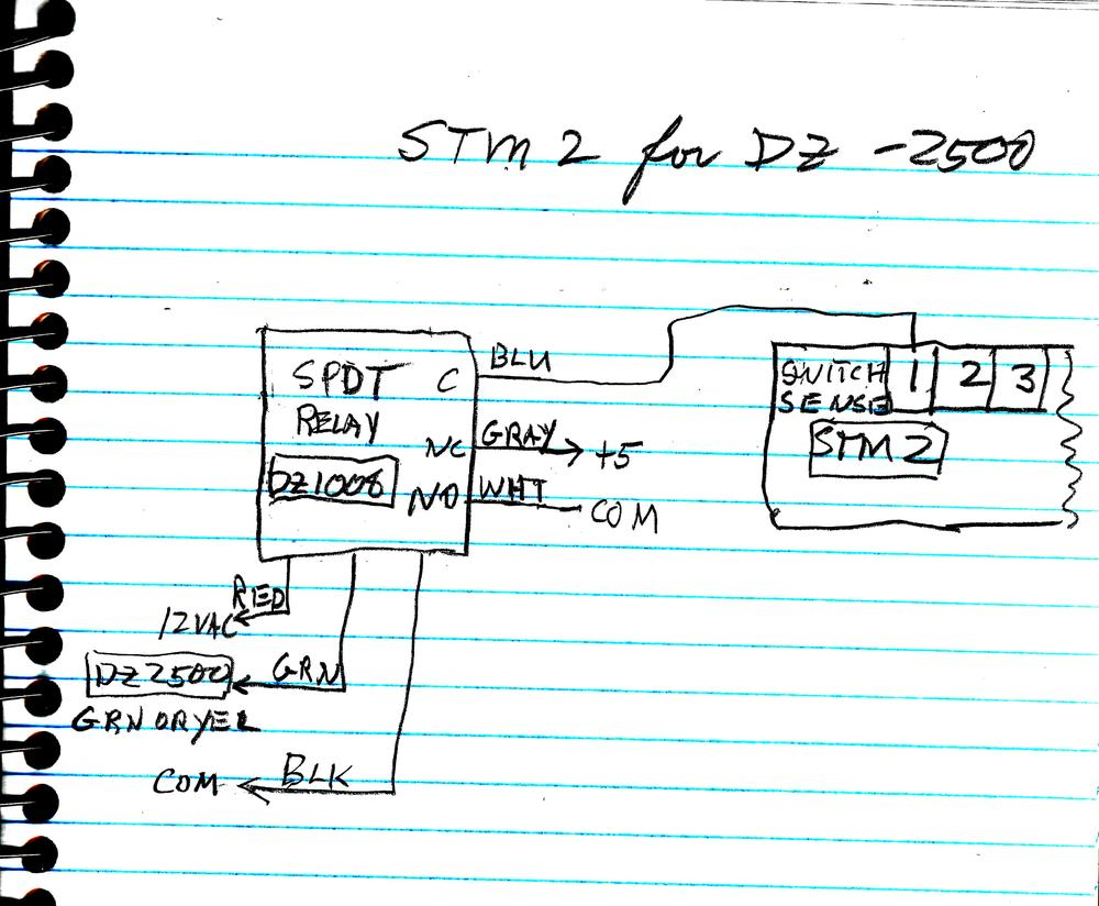 Stm2 And Dz1000 Compatability O Gauge Railroading On Line Forum Tortoise Switch Machine Wiring Diagram Push Switches Dz2500stm2