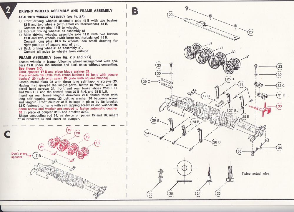 Assembly Instructions Needed For A Rivarossi Indiana Harbor Belt 0 8