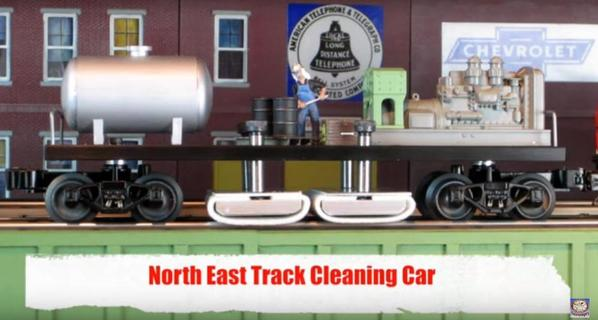 North East Track Cleaning Car