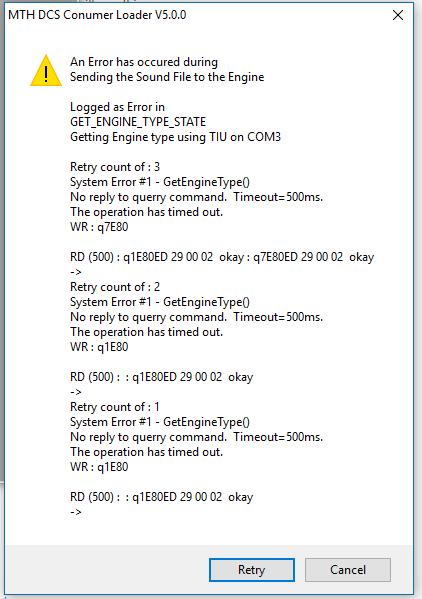 loader error