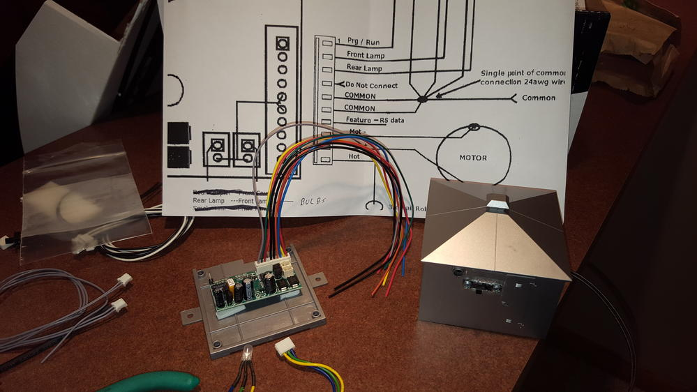 Wiring an Atlas O turntable for command control with an Electric – Lionel Legacy Wiring