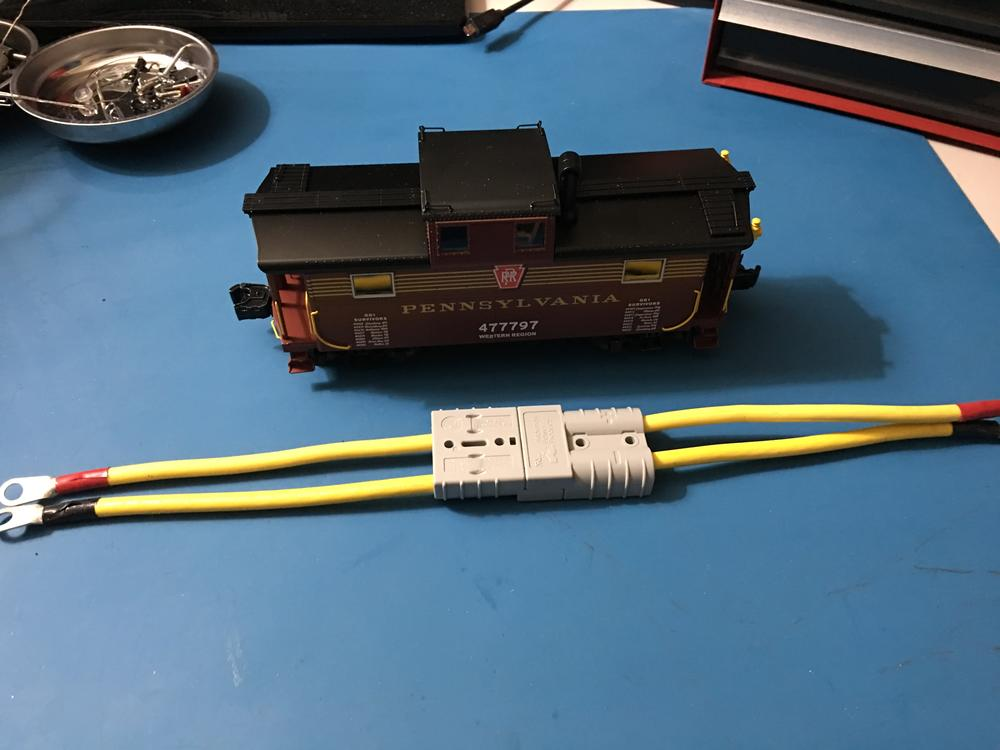 Small 22 to 24 gauge wire plugs for buildings?   O Gauge Railroading ...