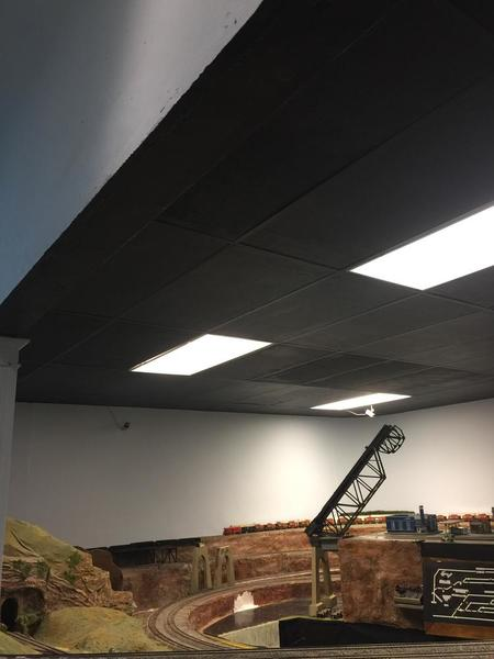 Painting Ceiling Tiles Black O Gauge Railroading On Line Forum