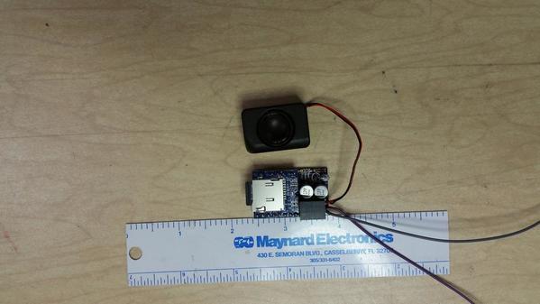 Discrete Input MP3 Module