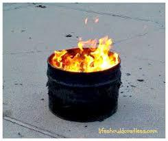Image result for burning barrel