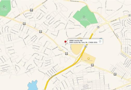 Map to Wyndham Gardens