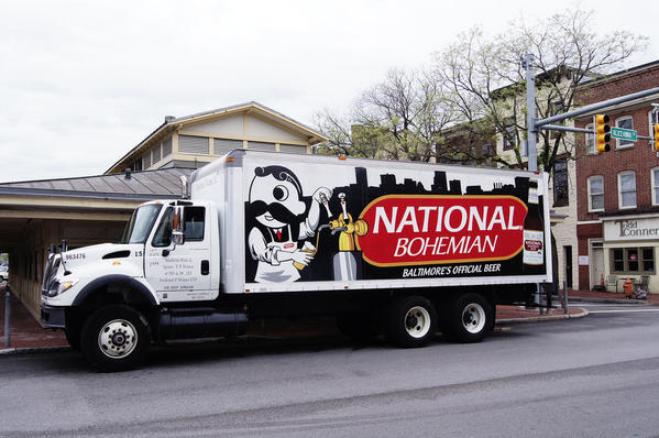 natty boh delivery truck