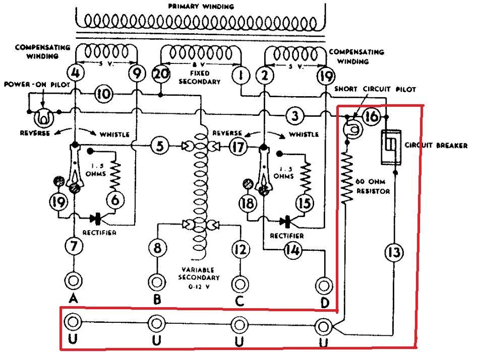 Lionel Zw Transformer Wiring Diagram