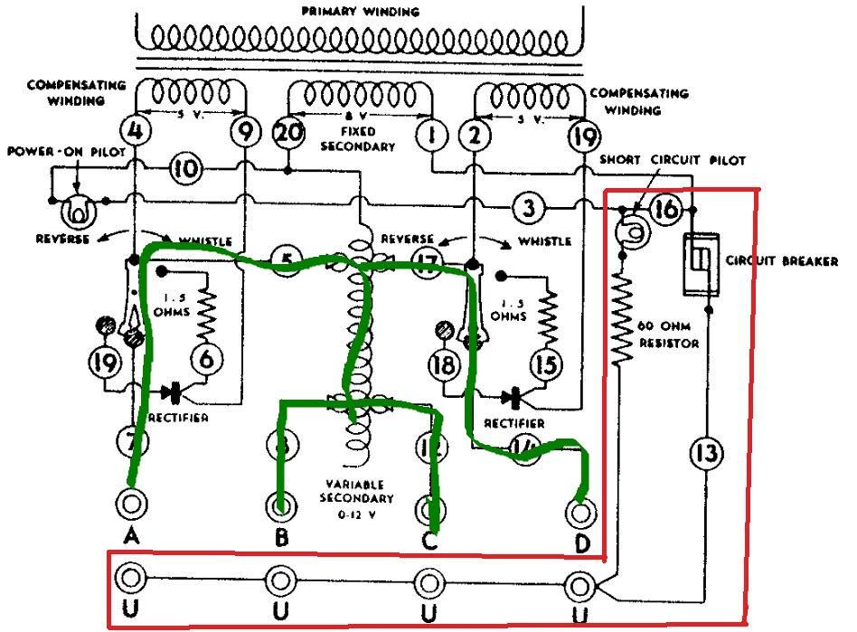 [FPWZ_2684]  Post war ZW transformer circuit breaker pops after 5 - 10 minutes of  running 3 trains simultaneously; what's up? | O Gauge Railroading On Line  Forum | Zw Wiring Diagram |  | O Gauge Forum