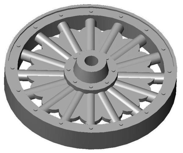 Large Waggon Wheel