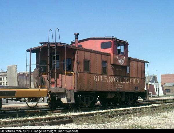 Caboose GM&O 2623