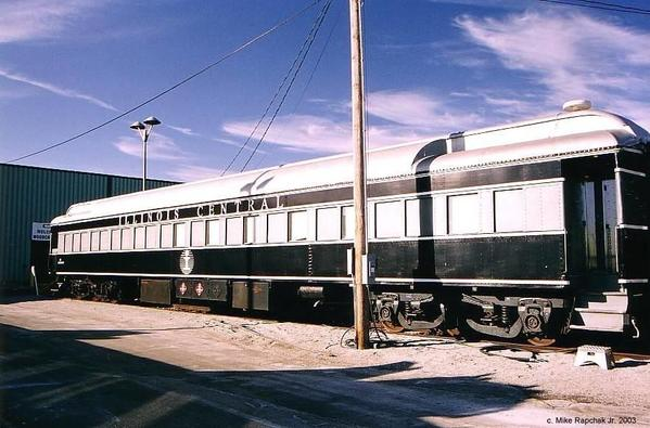 Illinois Central training car