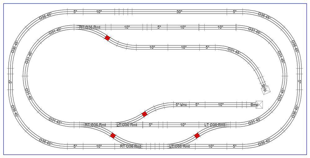 4 X 8 Fastrack Layout O Gauge Railroading On Line Forum