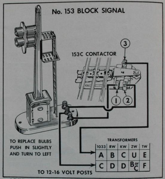 153 block controller wiring