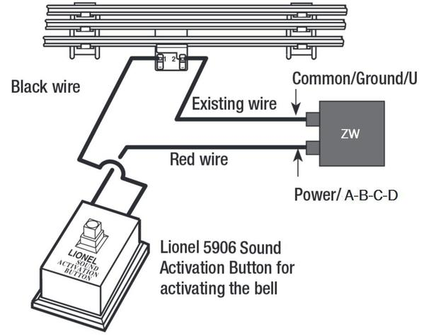 how to add bell function to pw zw transformer | o gauge ... whistle wiring schematics