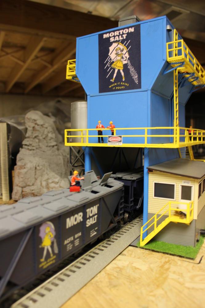 03 21 17 New Morton Salt Factory Hopper From Menards