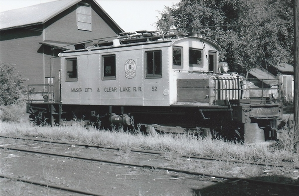 MAson City & Cedar Lake RR No 52