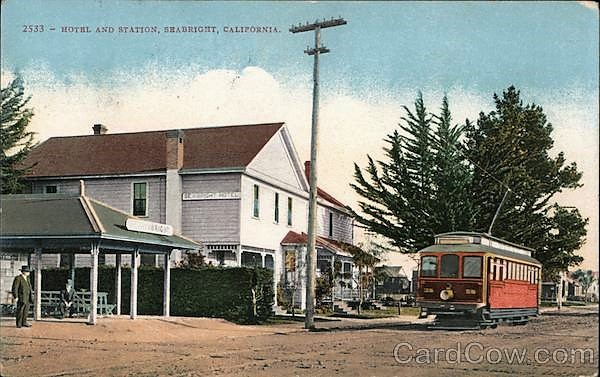 Seabright, Ca Trolley