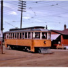 10 - Neebing Streetcar in front of store Unknown location