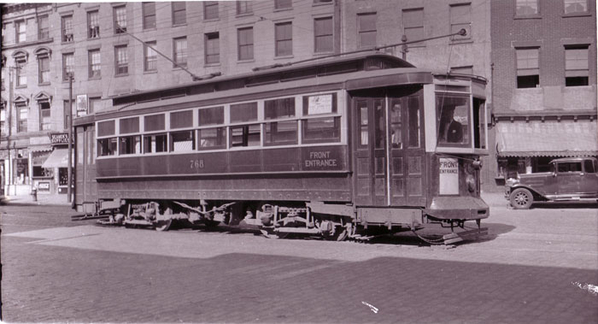 Brooklyn Rapid Transit Co. #458 on 5th Ave. at 59th Street, Brooklyn 1910 62kb