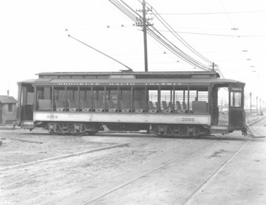 1906 Trolley Car Brooklyn Rapid Transit 45kb