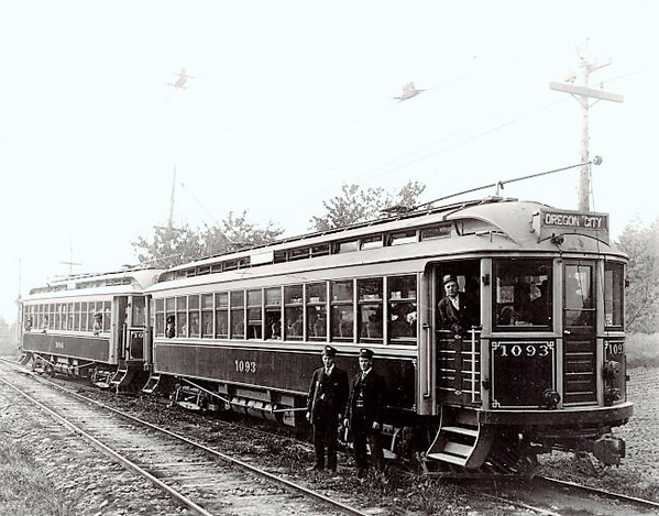 Oregon City Trolley on the Interurban Line