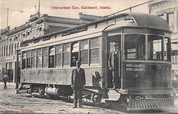 Boise-Caldwell Idaho Interurban