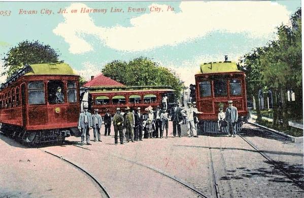 Evans City Jct, Harmony Line, Pa