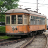 Johnstown_350_in_2004: Johnstown #350 at the Pennsylvania Trolley Museum in 2004